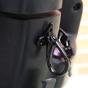 Blue Motorcycle Luggage Hooks Aluminum Scooter