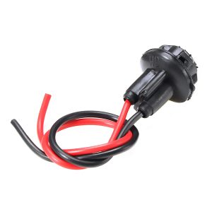 T10 Dashboard Socket Plug LED Incandescent Wire Motorcycle