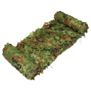 7X1.5m Woodland Camouflage Camo Net For Camping Military Photography