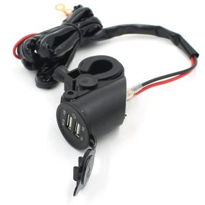 Waterproof Motorcycle Car Mobile Phone USB Charger Power Adapter