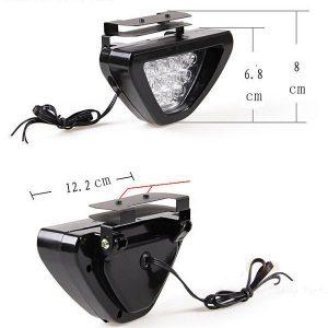 Motorcycle 12V LED Brake Flashing Lamp Taillight Assembly