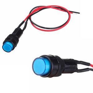10mm Universal Indicator Dash Panel Warning Light Lamp