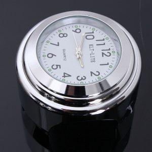 7/8inch 1inch Universal Motorcycle Handlebar Mount Waterproof Clock
