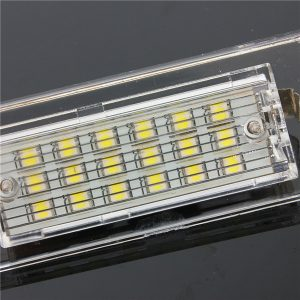 18 LEDs Number License Plate Lights White Lamp for BMW X5 E53 X3 E83