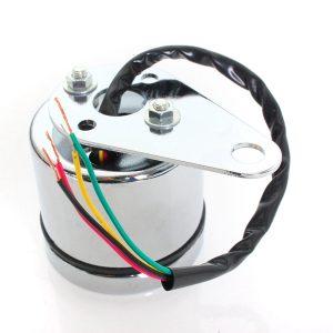 Universal 12V Motorcycle LED Digital Tachometer and Clock Gauge