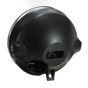 7inch 12V 35W H4 Motorcycle Headlight Bulb Rear Mount Headlamp
