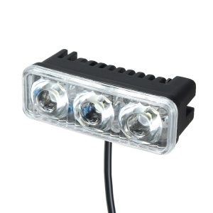 12-80V 9W 6000-6500K Motorcycle Scooter Electric Car LED Headlight