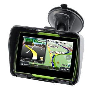 4.3inch Touchscreen Waterproof Motorcycle Car GPS Navigation NAV 8GB