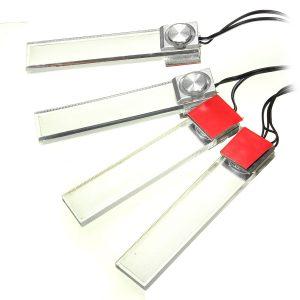 12V 4 in 1 LED Auto Interior Floor Dash Decorative Atmosphere Light Lamp
