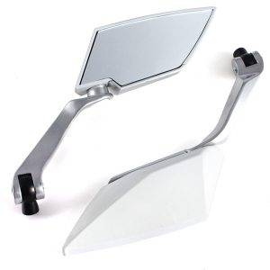 8mm 10mm Universal Motorcycle Rear View Rear View Side Mirrors