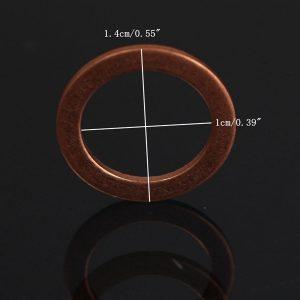 10pcs M10 Standard Copper Motorcycle Braided Clutch Brake Hose Washers Enhancement