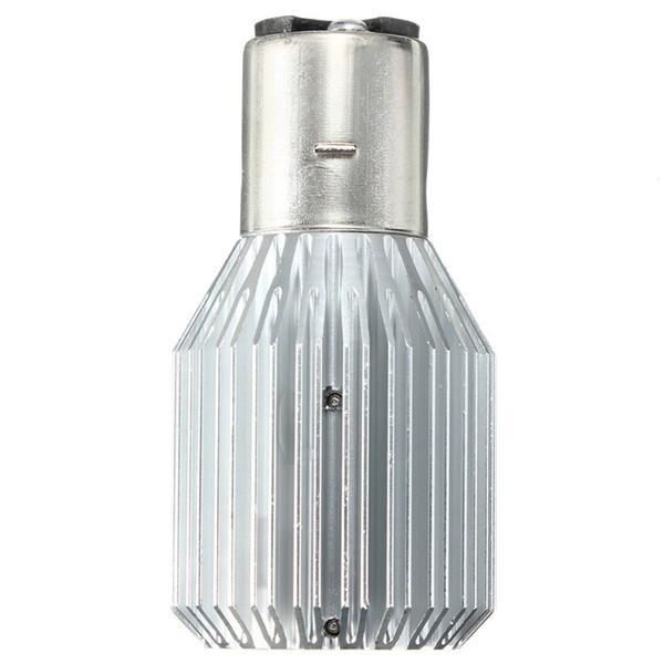 Motorcycle LED Headlight DC 12-24V 12W H/L COB BA20D Bulb