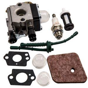 New Complete Carburetor Kit for STIHL FS55 FS55R FS55RC 4140 120 0619