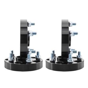 2pcs Professional Hub Centric Wheel Adapters for Lexus 1990-2017 Toyota 1986-2017 Black