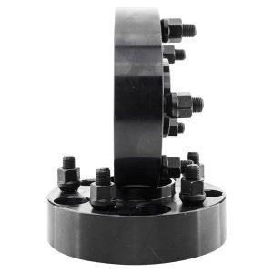 2pcs Professional Hub Centric Wheel Adapters for Jeep Wrangler 2007-2015/Commander 2006-2010/Grand Cherokee 1999-2010 Black