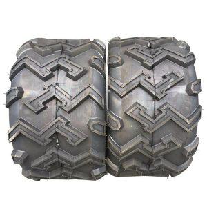 Set of(2) Rim Width: 4.5 Inch 22X11-10 22x11x10 4PR P306 ATV UTV Tubeless Tires