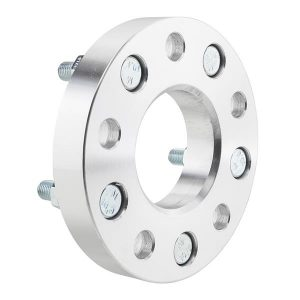 2pcs Professional Hub Centric Wheel Adapters for Chevrolet El Camino/Camaro/S10/Corvette Silver