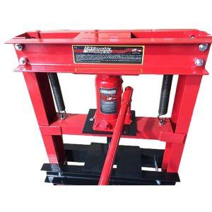 Hydraulic Shop Press Floor Press 12 Ton H Frame Black