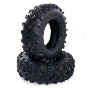 TWO 26×11-12 Atv Utv Rear Tires 26-11-12 6 Ply 26x11x12 – 480LBS – OD:667mm
