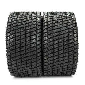 23×10.50-12 Lawnmower / Golf Cart Turf Tread 4 ply Tires Black two new warranty