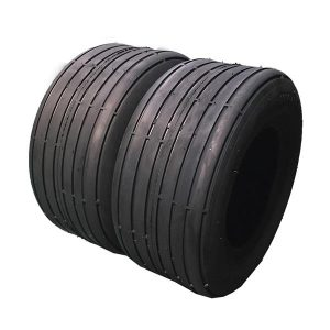 Set of 2 13×5.00-6 Rib Tires 4 ply Lawn Mower Garden Tractor 13-5.00-6 13x500x6