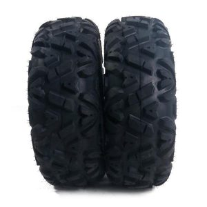 2 New TIRE SET ATV TIRES 6 PLY 25 Inch 25x8x12with warranty