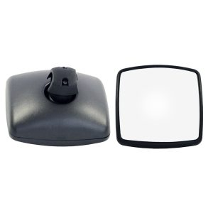 02-18 International 4200 4300 Complete Mirror Black Right Passenger RHSide w/Arm