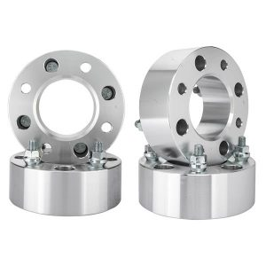 2Pcs 2 Inch Thick 4×110 10×1.25 Studs Wheel Spacers For Yamaha Grizzly 350 450 700