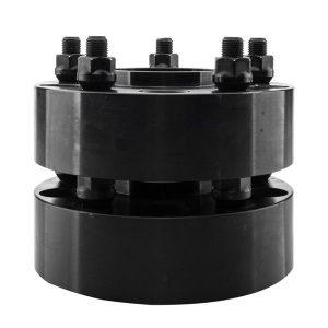 2pcs Professional Hub Centric Wheel Adapters for Dodge Dakota Ram Durango 2002-2011 Black