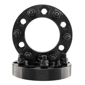 2pcs Professional Hub Centric Wheel Adapters for Jeep Cherokee/Grand Cherokee/Wrangler/Liberty/Comanche Black