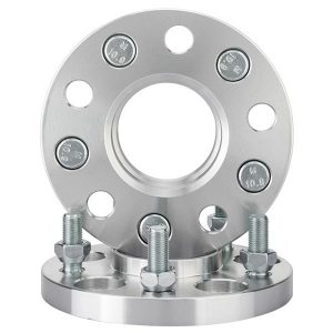 2pc Hubcentric Wheel Spacers Adapters | 5×114.3 | 12X1.25 | 66.1 CB | 15mm Thick