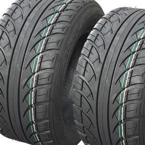 set of 2 205/50-10 4PR Golf Cart Tires DOT Street Legal for EZGO, Club Car