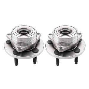 Pair Wheel Hub Bearing Assemblies for Ford Taurus All Types 1996-2007 Lincoln Continental All Types 1995-2002 Mercury Sable All Types 1996-2005