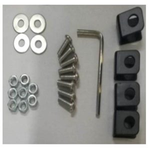 2 x 54 inth Roof Racks Universal Iron RB-10-135 – screws + fittings
