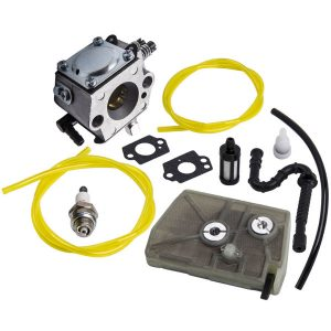 Carburetor & Fuel Line Kit for Stihl 028 028AV Super Chainsaw HU-40D 11181200600