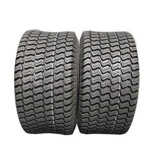 2 New 24×9.50-12 Garden Lawn Mowers Turf Mower Garden Tractor Tire 4PLY
