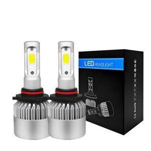1 Pair 9005 Headlight Coversion LED Bulb Kit High Beam for 2012 Toyota Venza