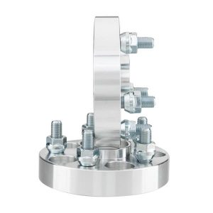 2pcs Professional Hub Centric Wheel Adapters for Scion 2013-2015 Subaru 1990-2015 Saab 2006 Silver
