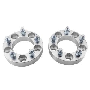 2pcs Professional Hub Centric Wheel Adapters for Jeep Ford 1955-2014 Silver