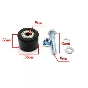 Chain Roller Guide Set Fits for Yamaha YFZ 350 Banshee