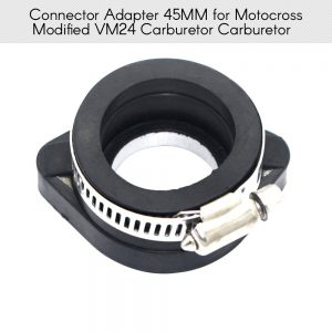 22mm 28 mm Motorcycle Carburetor Interface Rubber Adapter Connecter for Off-road Vehicles