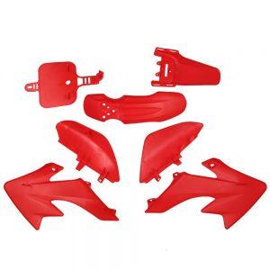 Plastic Fender Protector Motocycle Body Work Fairing Kit Fit for Honda Piranha XR50 CRF50 Dirt Pit Bike