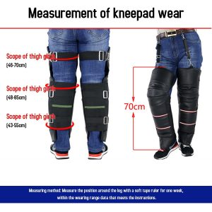 1 Pair of Motorcycle Warm Knee Protector Thicken Plus Velvet Cycling Knee Braces Windproof Knee Warmer Wraps Pads