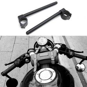 Motorcycle Modified Universal Handlebar CNC Aluminum Alloy Separation Handlebars Sports Racing Handlebars