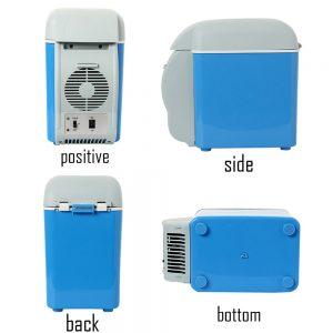 12V 7.5L Capacity Portable Car Refrigerator Cooler Warmer Truck Electric Fridge for Travel RV Boat